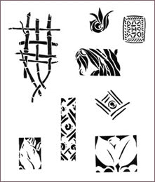 MARINE STENCIL COLLECTION