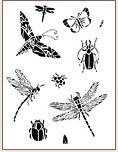 ALL THE BUGS STENCIL COLLECTION