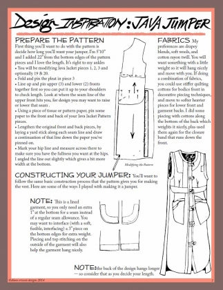 #301 - THE ASHLAND VEST - PDF PATTERN