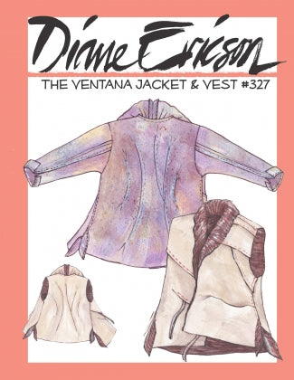 #327 - THE VENTANA VEST & JACKET - PAPER PATTERN
