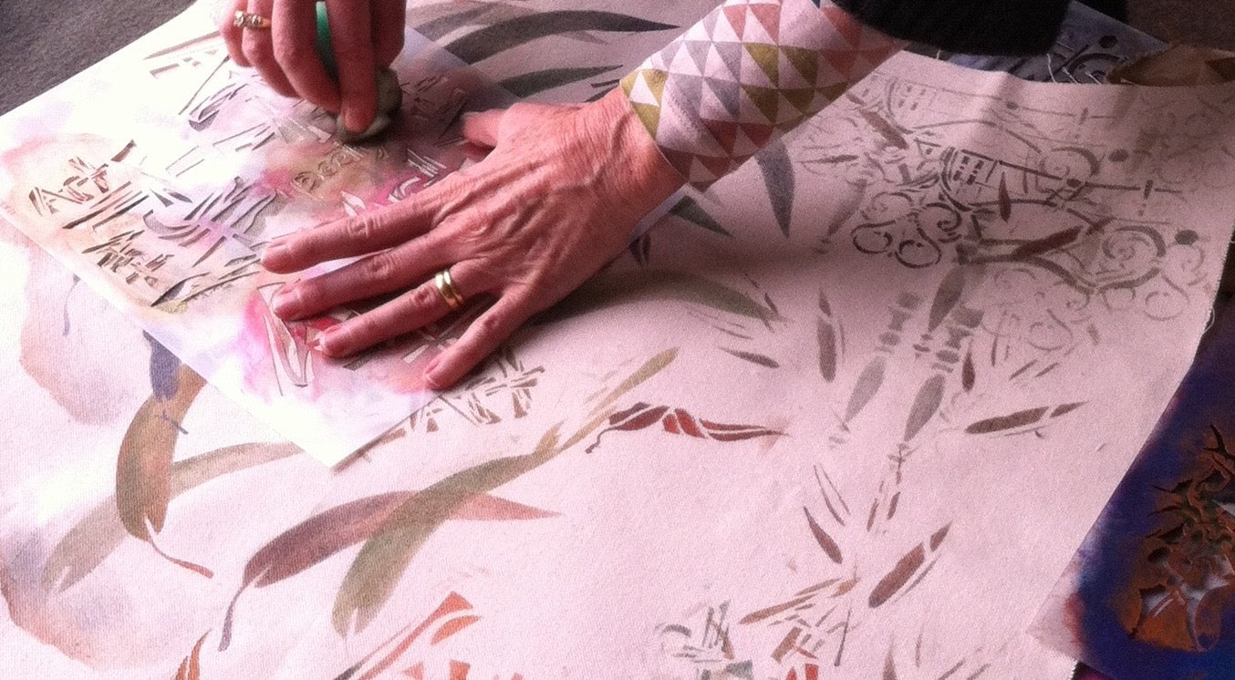 Surface Design: Print your Fabric -          Friday, Aug 24th 9:30-4:30