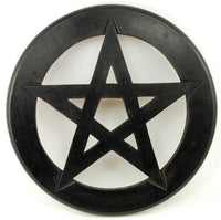 Pentagram Wall Hanging And Altar Tile 9