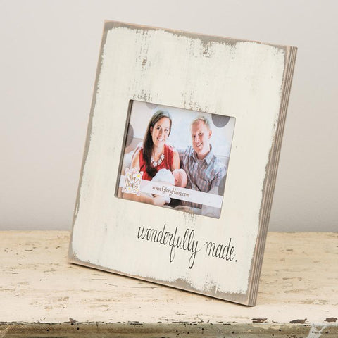 Wonderfully Made Photo Frame