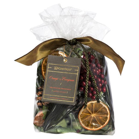 Aromatique Orange & Evergreen Potpourri