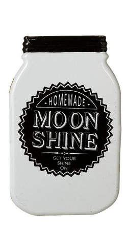"Small White ""Get your Shine On"" Mason Jar Wall Decor"