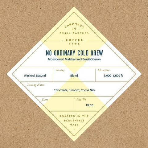 No Ordinary Cold Brew Blend - Whole Bean Coffee, 10oz