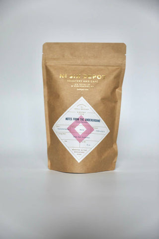 Notes from the Underground Espresso - Whole Bean Coffee, 10oz