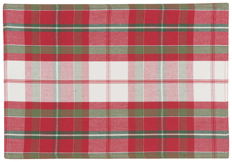 Garland Plaid Placemat