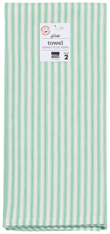 Greenbriar Glass Towels - Set 2