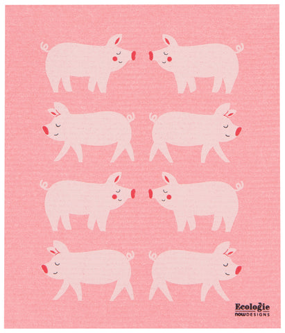 Penny Pig Swedish Dish Towel