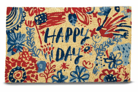 Happy Day Coir Doormat