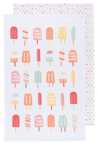 Popsicles Dishtowels - Set 2