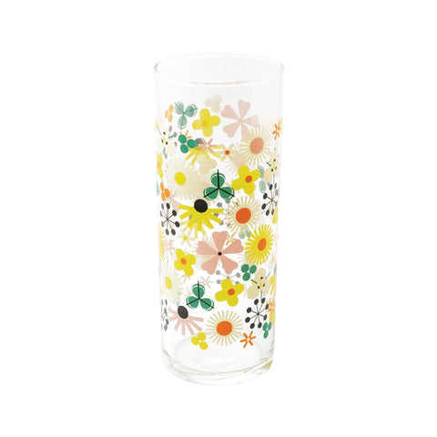 Pop Floral Glass