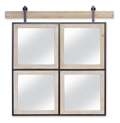 Connelly 4 Panel Wall Mirror