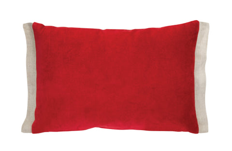 Red/Cream Pillow