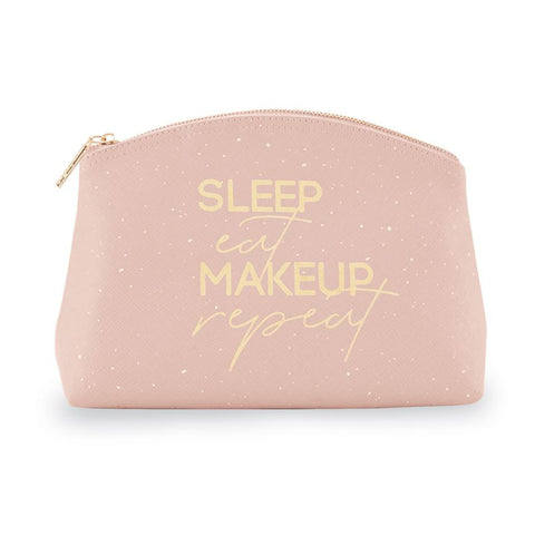 Makeup Zipper Pouch - Blush