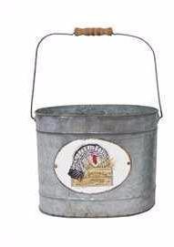 Turkey Tin Bucket