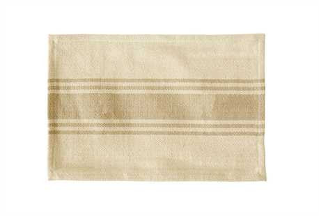 Striped Cotton Canvas Placemat-Multiple Colors