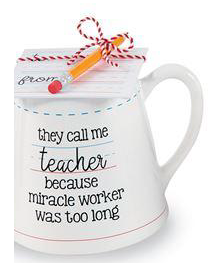 Call me Teacher Mug