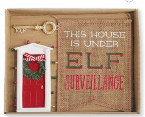 Elf Door Gift Set