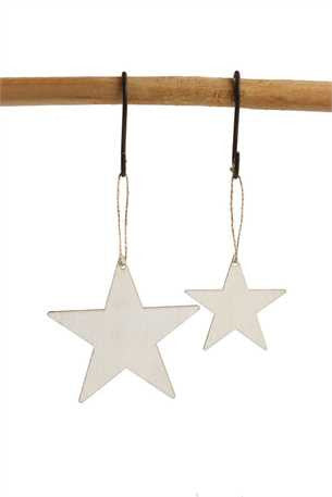 Wood Star Ornament/Gift Tags