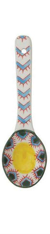Spoon w/ Painted Pattern