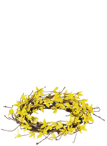 Forsythia Candle Ring