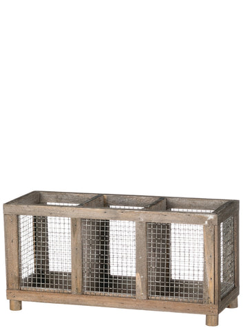 Mesh Panel Container