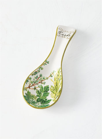 """Herbs"" Spoon Rest"