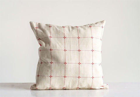 Patterned Cotton Pillow