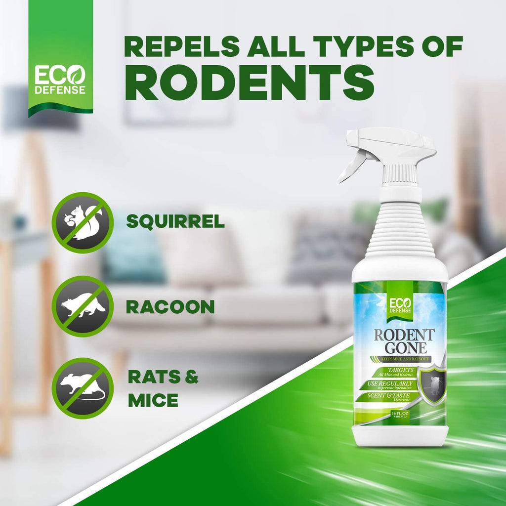 Natural Mouse Repellent Spray