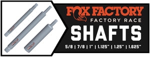 Fox Shock Shafts | Factory Series