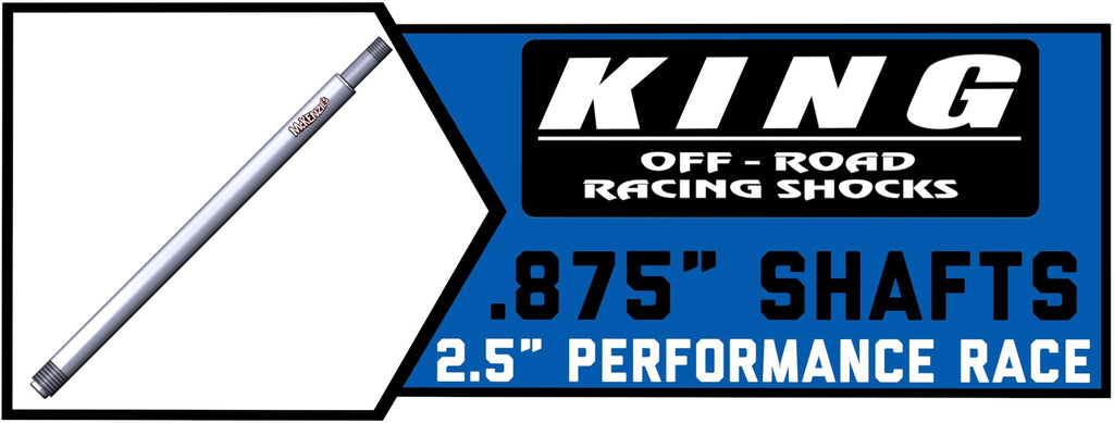 "King Shock Shafts 2.5"" x .875"" 
