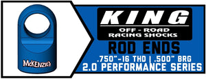 "King Shock Rod Ends 2.0"" x .750"" 