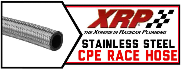 XRP Stainless Steel CPE Race Hose