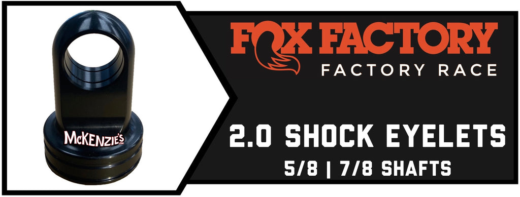 2.0 Fox Shaft Eyelets
