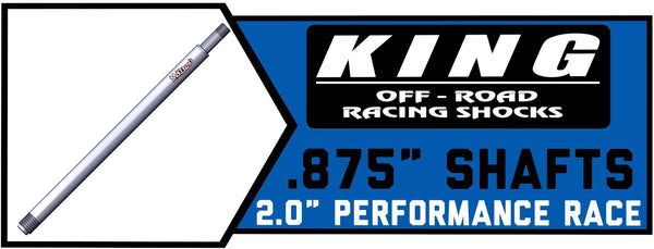 "King 2.0"" x .875"" Shafts"