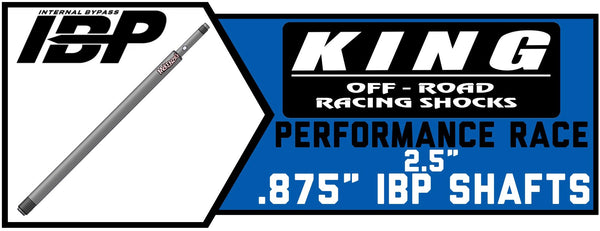 ".875"" IBP Shock Shafts 