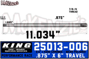 "King 25013-006 | 2.5"" x 7/8 Shaft"