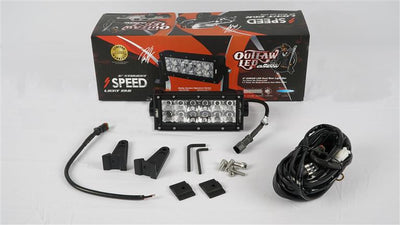 Outlaw LED Straight OSRAM Light Bars