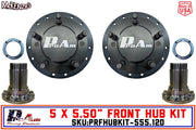 "ProAm 5 on 5.50"" Front Prerunner Truck Hubs 