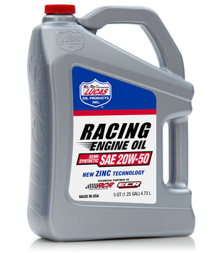 Semi Synthetic 20W-50 Racing Engine Oil - Lucas Oil