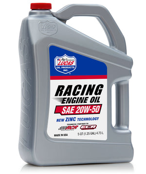 SAE 20W-50 Racing Engine Oil - Lucas Oil