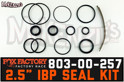 Fox 803-00-257 | 2.5 Internal Bypass Buna Seal Kit | Factory Series