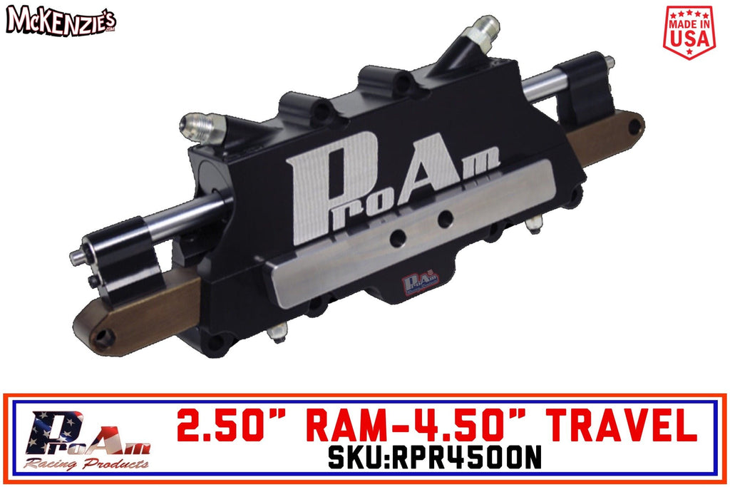 "ProAm RPR4500N | 2.5"" Ram x 4.5"" Travel Power Rack"