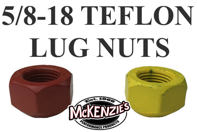 5/8-18 Teflon Coated Lug Nuts - 45 Degree Taper
