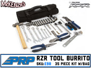 "RZR Roll-up Tool ""Burrito"" 35pc Kit 