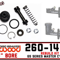 "Wilwood 260-14118 | .700"" GS Series M/C Rebuild Kit"