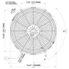 Spal 30102056 Pusher Fan VA08-AP71/LL-53S