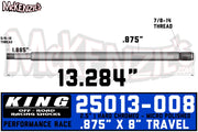 "King 25013-008 | 2.5"" x 7/8 Shaft"
